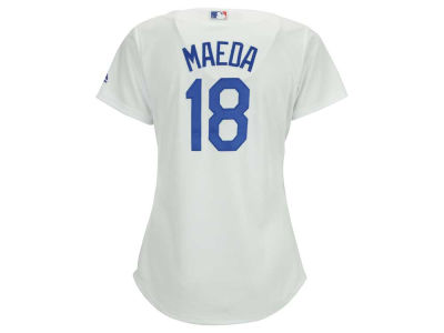 Los Angeles Dodgers Kenta Maeda Majestic MLB Women's Cool Base Player Replica Jersey