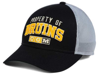 Boston Bruins CCM NHL CCM Truckn Adjustable Cap