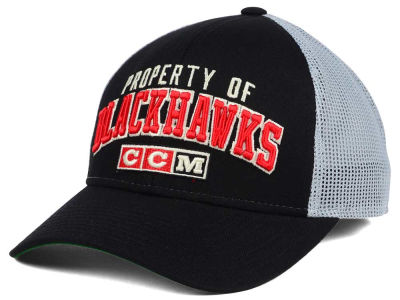 Chicago Blackhawks CCM NHL CCM Truckn Adjustable Cap