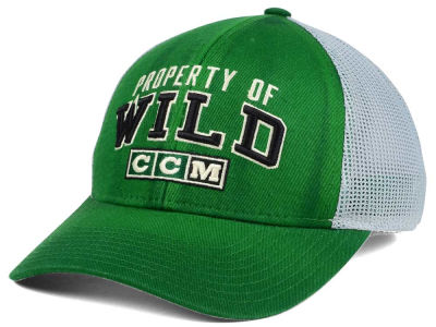Minnesota Wild CCM NHL CCM Truckn Adjustable Cap