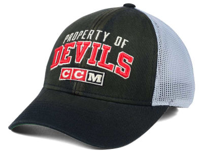 New Jersey Devils CCM NHL CCM Truckn Adjustable Cap