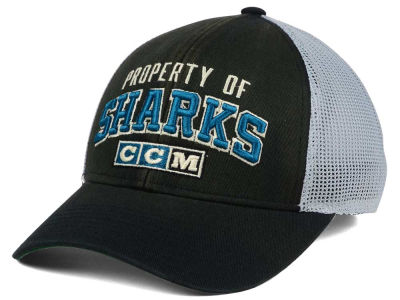 San Jose Sharks CCM NHL CCM Truckn Adjustable Cap