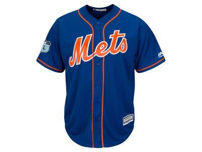 New York Mets Jacob deGrom MLB Men's Spring Training Patch Replica Cool Base Jersey