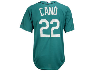 Seattle Mariners Robinson Cano MLB Men's Spring Training Patch Replica Cool Base Jersey