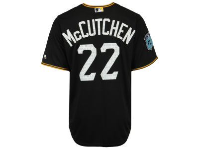 Pittsburgh Pirates Andrew McCutchen MLB Men's Spring Training Patch Replica Cool Base Jersey