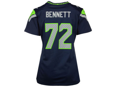 Seattle Seahawks Michael Bennett Nike NFL Women's Game Jersey