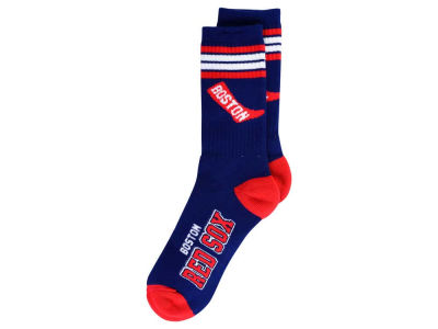 Boston Red Sox Retro 4 Stripe Deuce Crew Socks