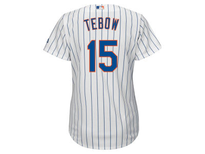 New York Mets Tim Tebow Majestic MLB Women's Cool Base Player Replica Jersey