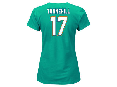 Miami Dolphins Ryan Tannehill Outerstuff NFL Women's Fair Catch Player T-Shirt