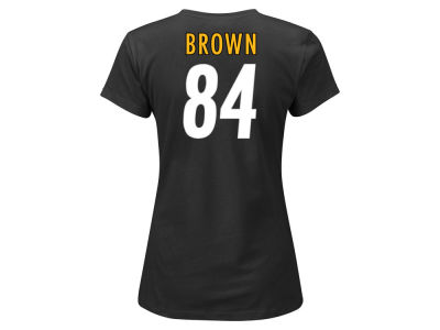 Pittsburgh Steelers Antonio Brown NFL Women's Fair Catch Player T-Shirt