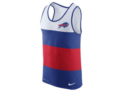 Buffalo Bills Nike NFL Men's Wide Stripe Tank