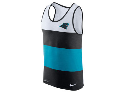 Carolina Panthers Nike NFL Men's Wide Stripe Tank