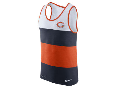 Chicago Bears Nike NFL Men's Wide Stripe Tank