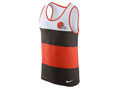 Cleveland Browns Nike NFL Men's Wide Stripe Tank