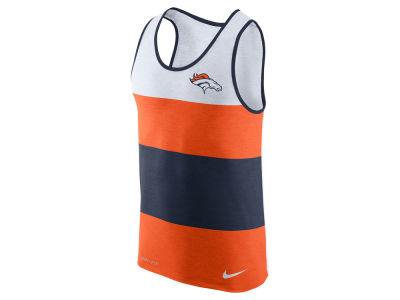 Denver Broncos Nike NFL Men's Wide Stripe Tank