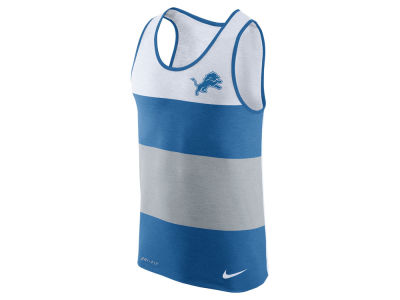 Detroit Lions Nike NFL Men's Wide Stripe Tank