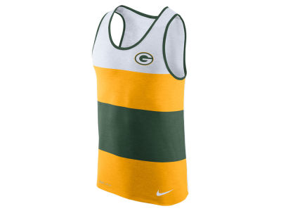 Green Bay Packers Nike NFL Men's Wide Stripe Tank