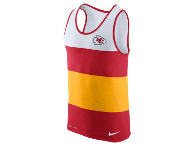 Kansas City Chiefs Nike NFL Men's Wide Stripe Tank
