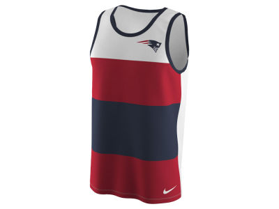 New England Patriots Nike NFL Men's Wide Stripe Tank