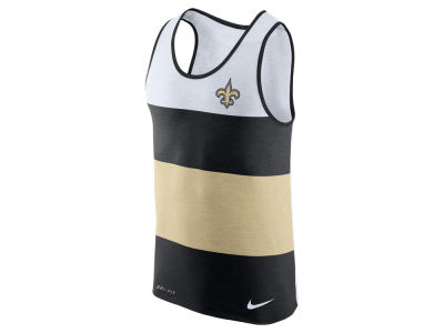 New Orleans Saints Nike NFL Men's Wide Stripe Tank