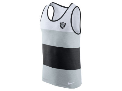 Oakland Raiders Nike NFL Men's Wide Stripe Tank