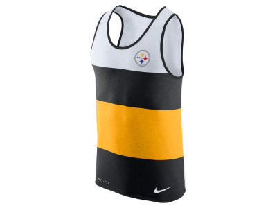 Pittsburgh Steelers Nike NFL Men's Wide Stripe Tank