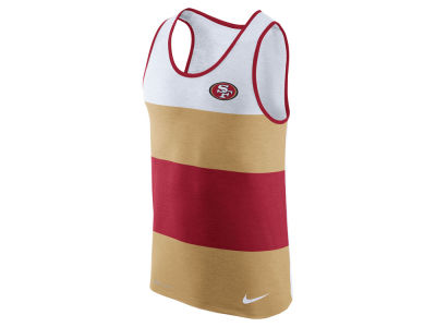 San Francisco 49ers Nike NFL Men's Wide Stripe Tank
