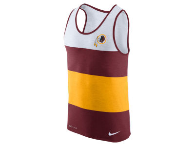 Washington Redskins Nike NFL Men's Wide Stripe Tank