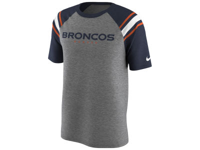 Denver Broncos Nike NFL Men's Enzyme Shoulder Stripe T-Shirt