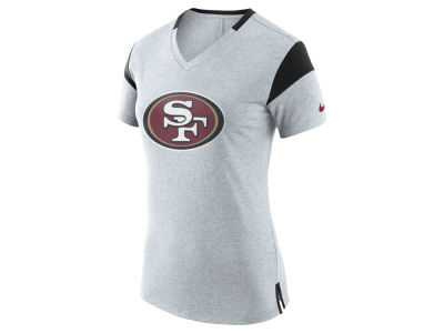 San Francisco 49ers Nike NFL Women's Fan V Top T-Shirt