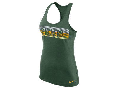 Green Bay Packers Nike NFL Women's Dri-Fit Touch Tank