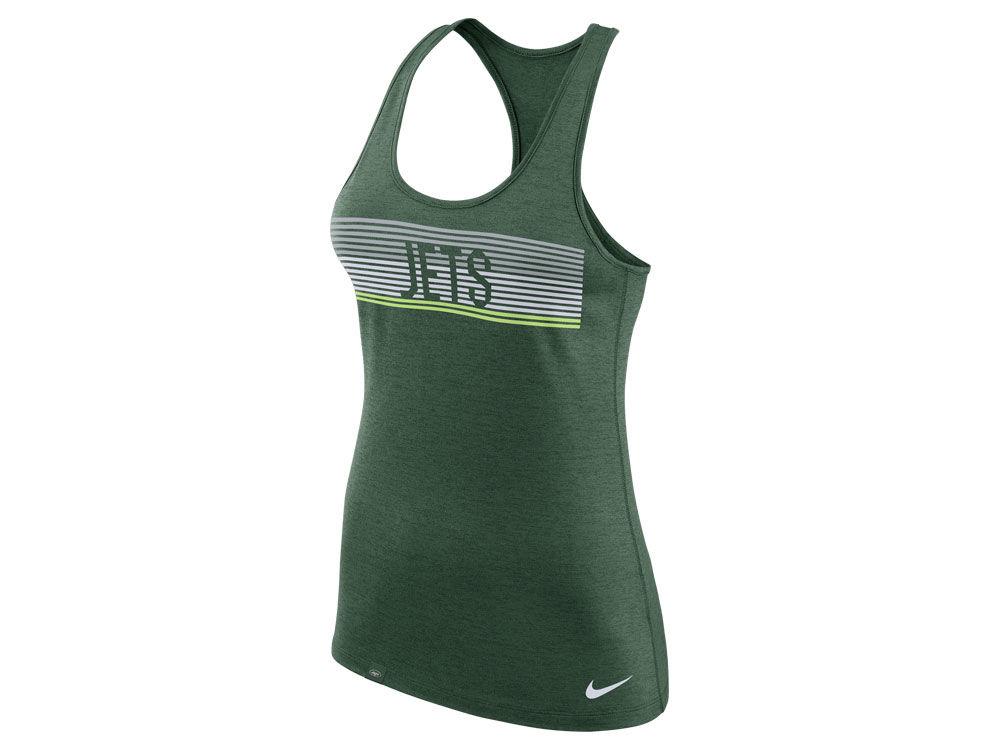New York Jets Nike NFL Women s Dri-Fit Touch Tank  9f1c0d55e