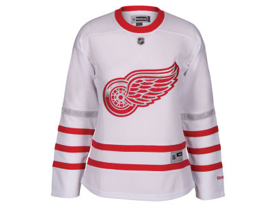 Detroit Red Wings Reebok NHL Men's Centennial Classic Premier Jersey with Patch