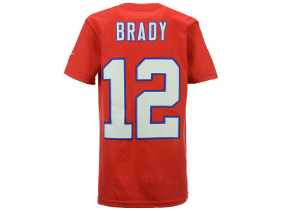 New England Patriots Tom Brady Nike NFL Youth Pride Name and Number T-Shirt
