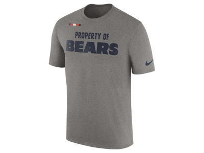 Chicago Bears Nike NFL Men's Property of Facility T-Shirt