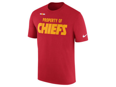 Kansas City Chiefs Nike NFL Men's Property of Facility T-Shirt