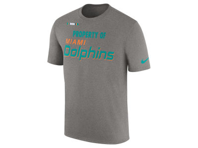 Miami Dolphins Nike NFL Men's Property of Facility T-Shirt