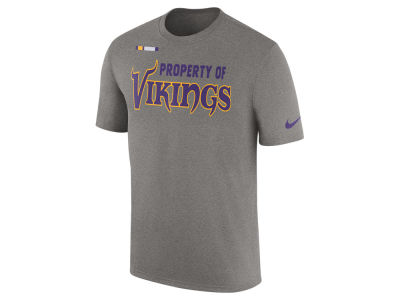 Minnesota Vikings Nike NFL Men's Property of Facility T-Shirt