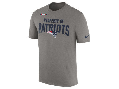 New England Patriots Nike NFL Men's Property of Facility T-Shirt