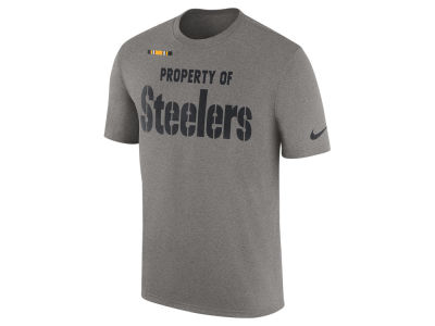 Pittsburgh Steelers Nike NFL Men's Property of Facility T-Shirt