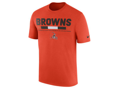 Cleveland Browns Nike NFL Men's Legend Staff T-Shirt