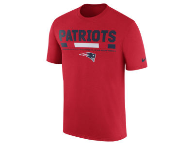 New England Patriots Nike NFL Men's Legend Staff T-Shirt