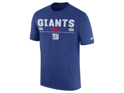 New York Giants Nike NFL Men's Legend Staff T-Shirt