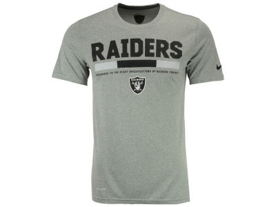 Oakland Raiders Nike NFL Men's Legend Staff T-Shirt