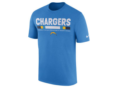 Los Angeles Chargers Nike NFL Men's Legend Staff T-Shirt
