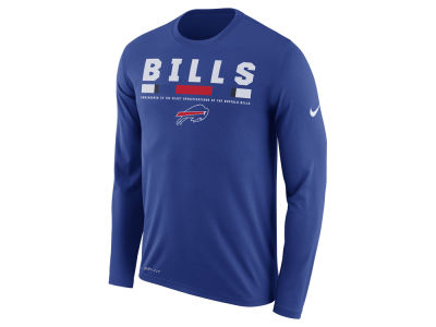 Buffalo Bills Nike NFL Men's Legend Staff Long Sleeve T-Shirt