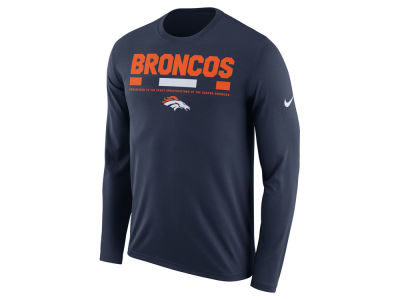 Denver Broncos Nike NFL Men's Legend Staff Long Sleeve T-Shirt