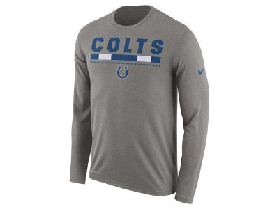 Indianapolis Colts Nike NFL Men's Legend Staff Long Sleeve T-Shirt