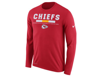 Kansas City Chiefs Nike NFL Men's Legend Staff Long Sleeve T-Shirt