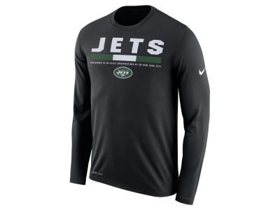 New York Jets Nike NFL Men's Legend Staff Long Sleeve T-Shirt
